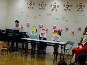 ☆今日は楽しいクリスマス会☆